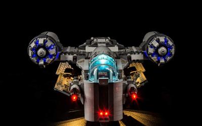 New The Mandalorian The Razor Crest LED Lighting Lego Set available!