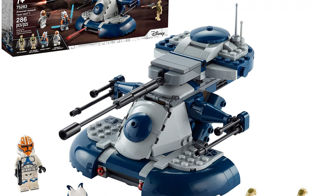 New Clone Wars Armored Assault Tank (AAT) Lego Set available now!