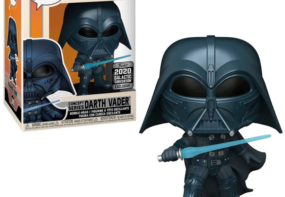 New Star Wars Darth Vader Concept Series Bobble Head Toy available!