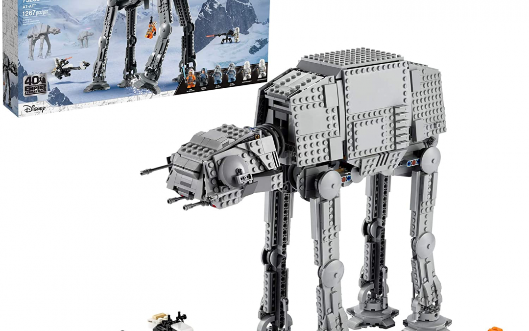 New A New Hope Imperial AT-AT Walker Lego Set available now!