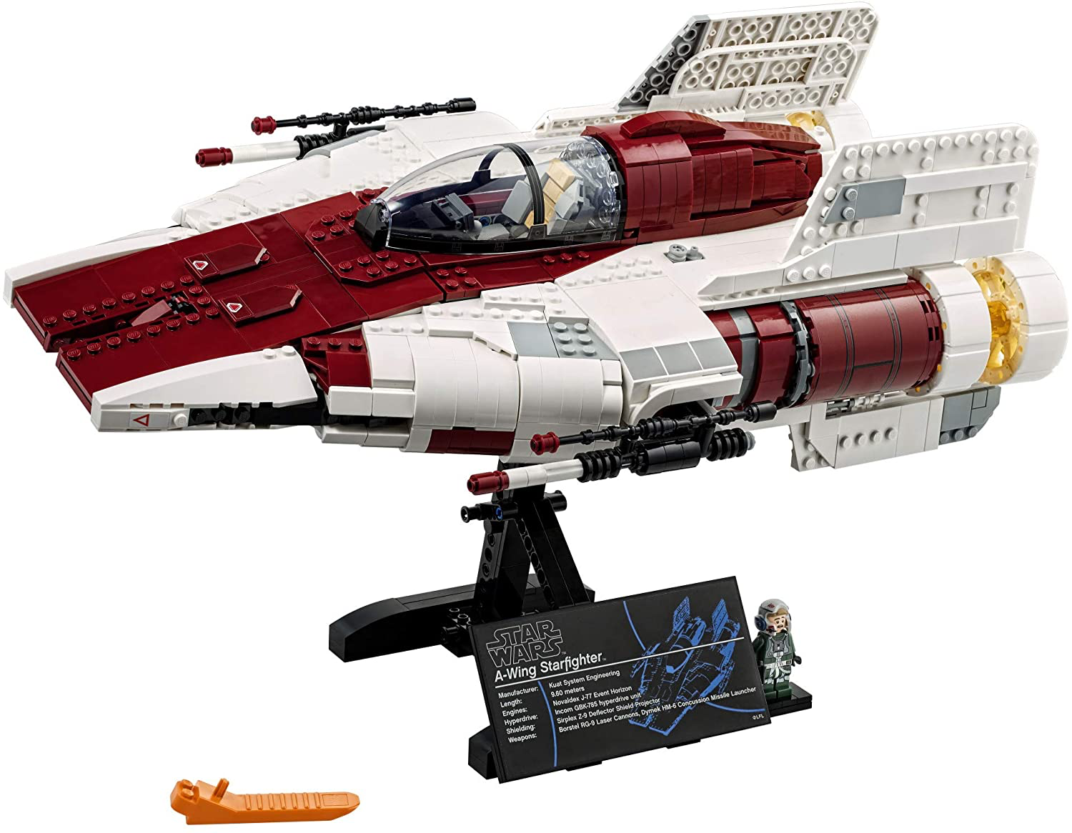 ROTJ A-Wing Starfighter Lego Set 3