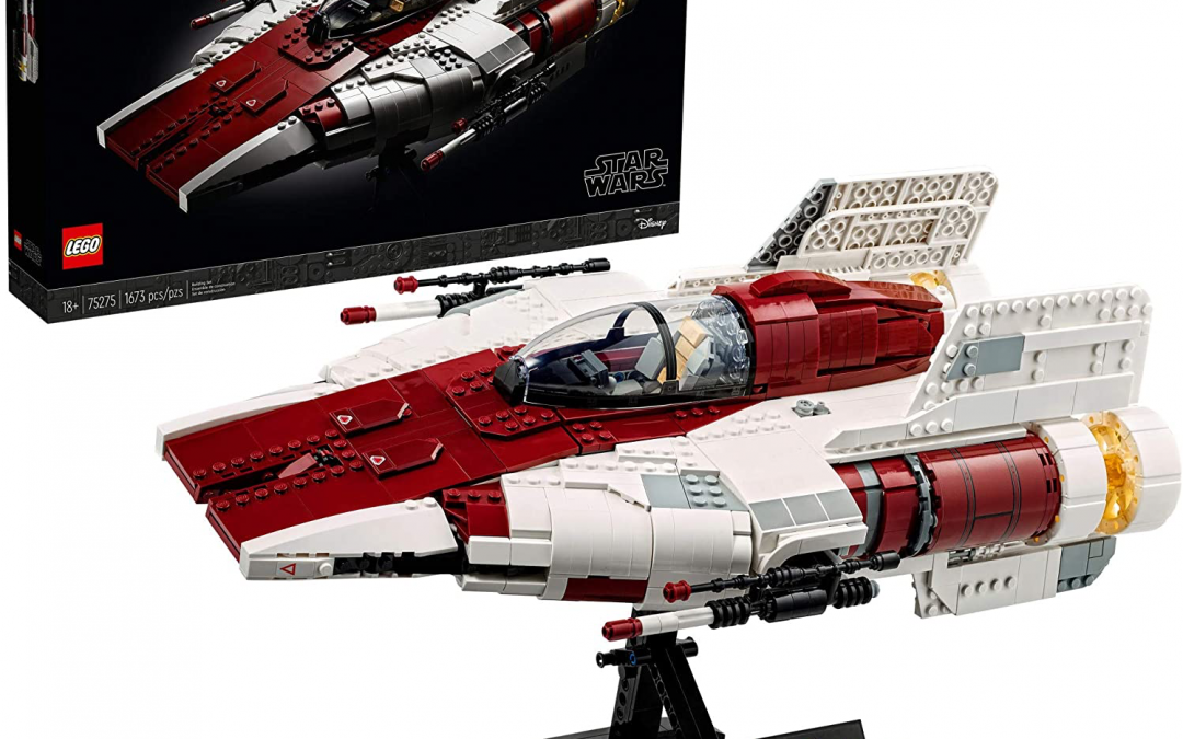 New Return of the Jedi A-Wing Starfighter Lego Set available!