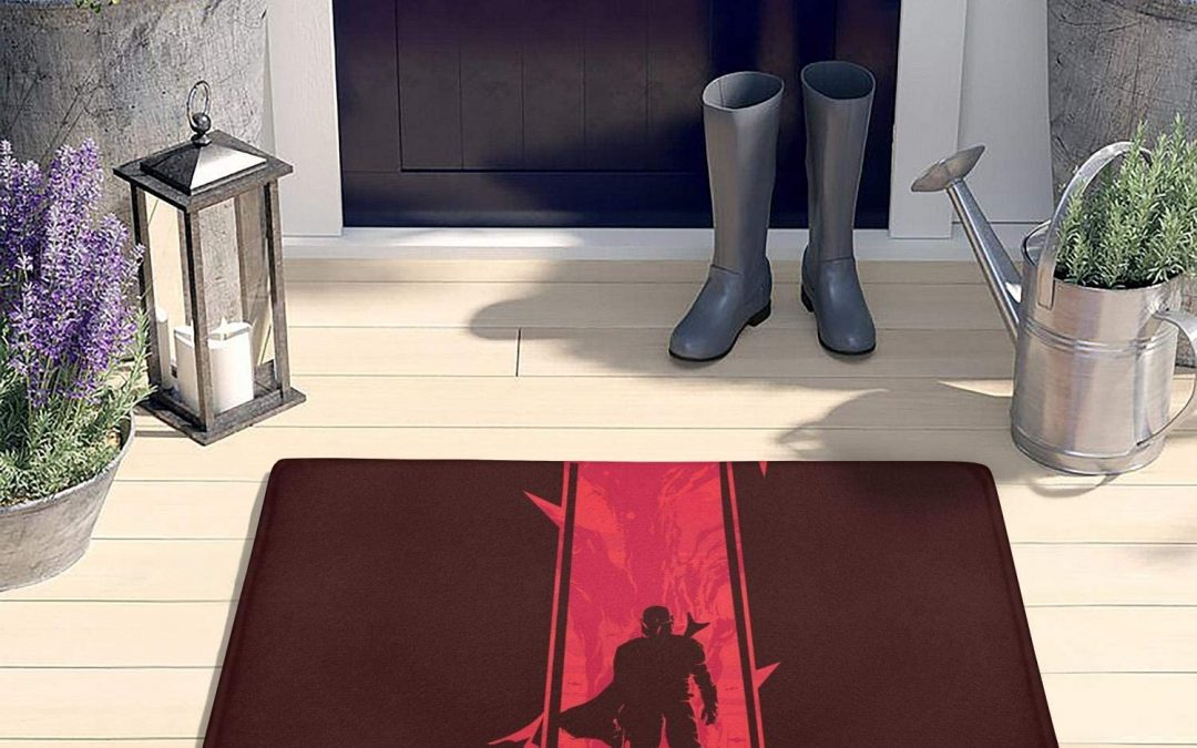 New The Mandalorian Mando Poster Floormat available now!