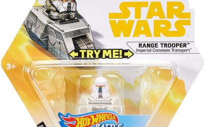 New Range Trooper Imperial Conveyex Transport Battle Roller Toy available!