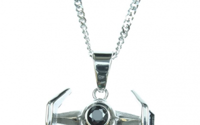 New Galaxy's Edge TIE Fighter Stainless Steel Necklace available now!