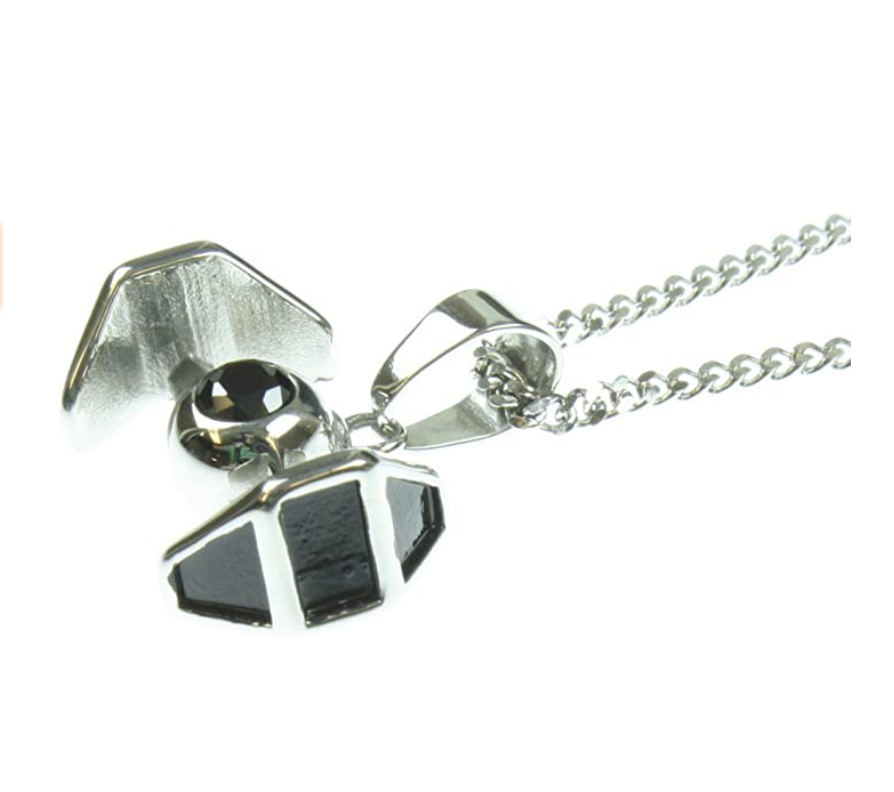 SWGE Tie Fighter Stainless Steel Necklace 2