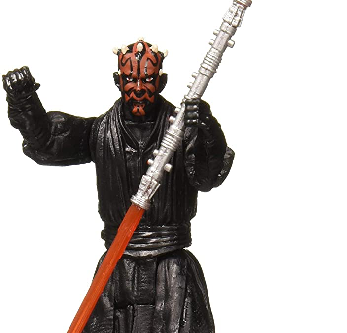"New Galaxy of Adventures Darth Maul 3.75"" Figure available now!"