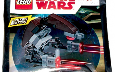 New Star Wars Destroyer Droid (Droideka) Polybag Lego Set available!