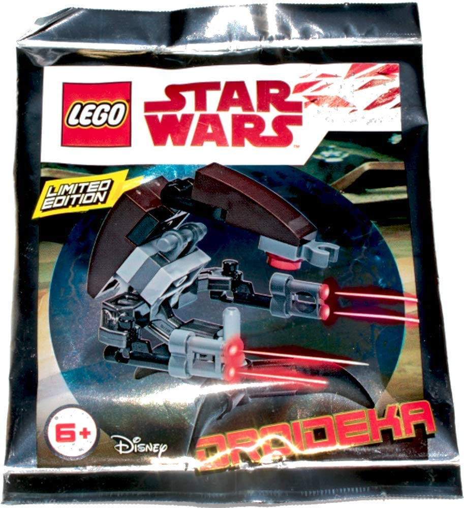 TPM Destroyer Droid (Droideka) Polybag Lego Set 1