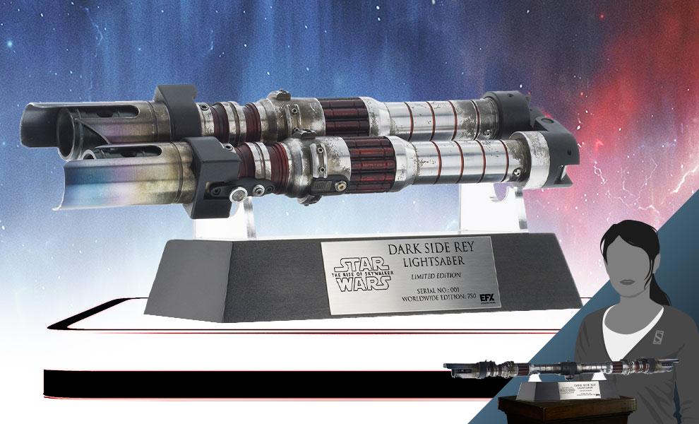 TROS Dark Side Rey Lightsaber Prop Replica 1