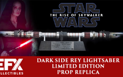 New Dark Side Rey Lightsaber Prop Replica available for pre-order!
