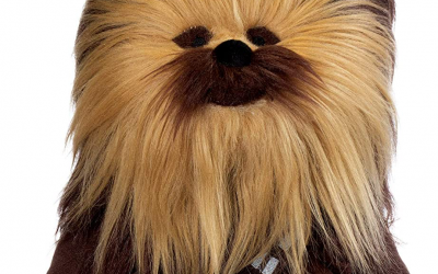 """New Star Wars Chewbacca 13"""" Lego Plush Toy available now!"""
