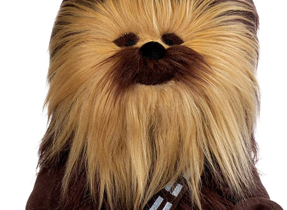 "New Star Wars Chewbacca 13"" Lego Plush Toy available now!"