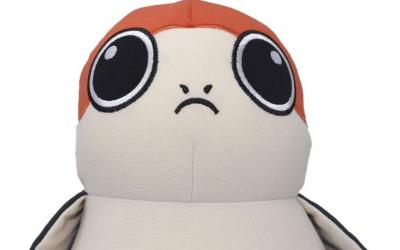 New Last Jedi Porg Soft Huggable Bean Bag Plush Toy available!