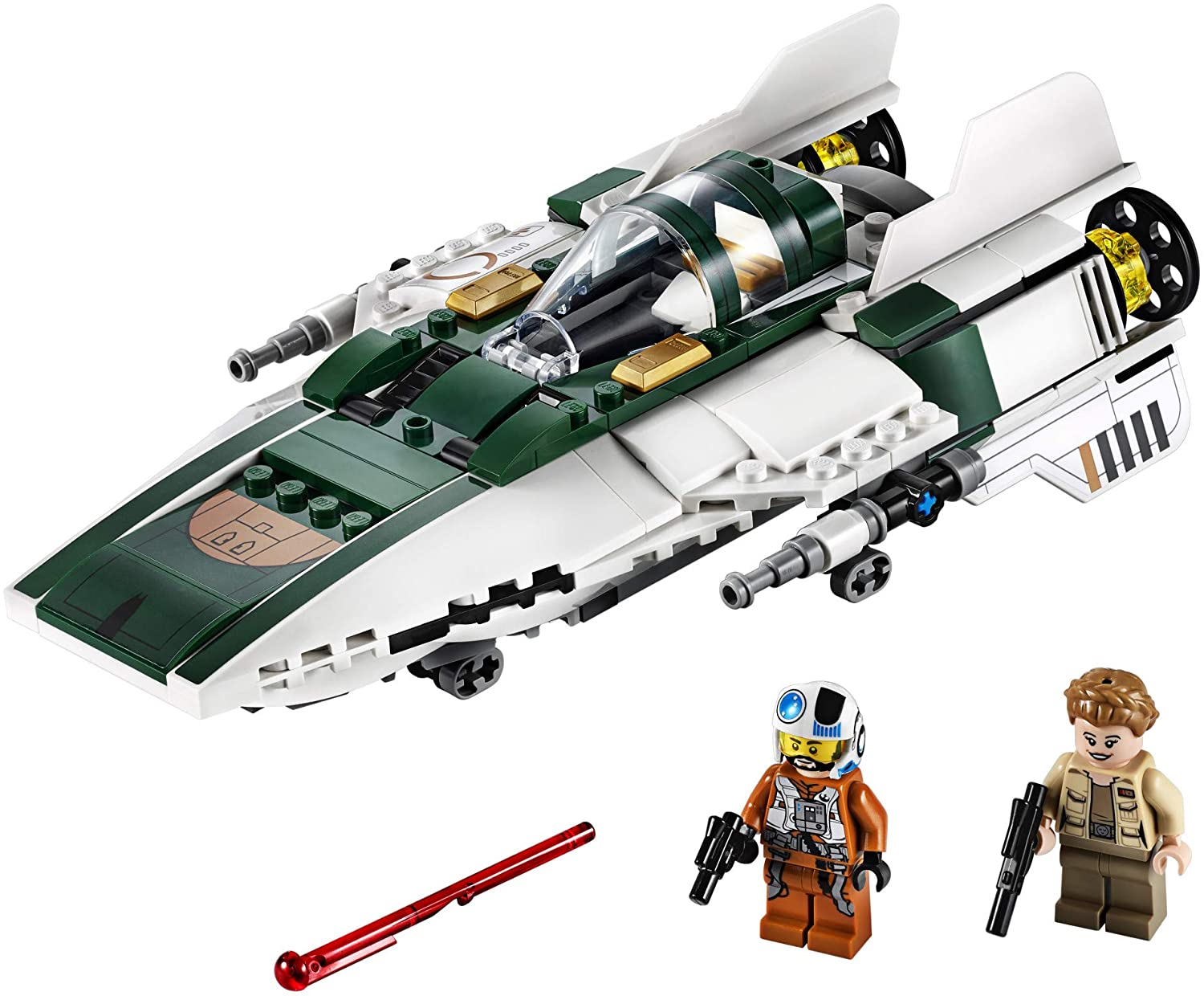 TROS Resistance A-Wing Fighter Lego Set 3