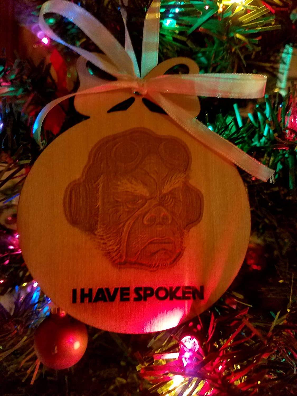 "TM Kuill ""I have Spoken"" Ornament 2"