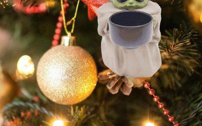 New The Mandalorian The Child Planter Pot Ornament available!