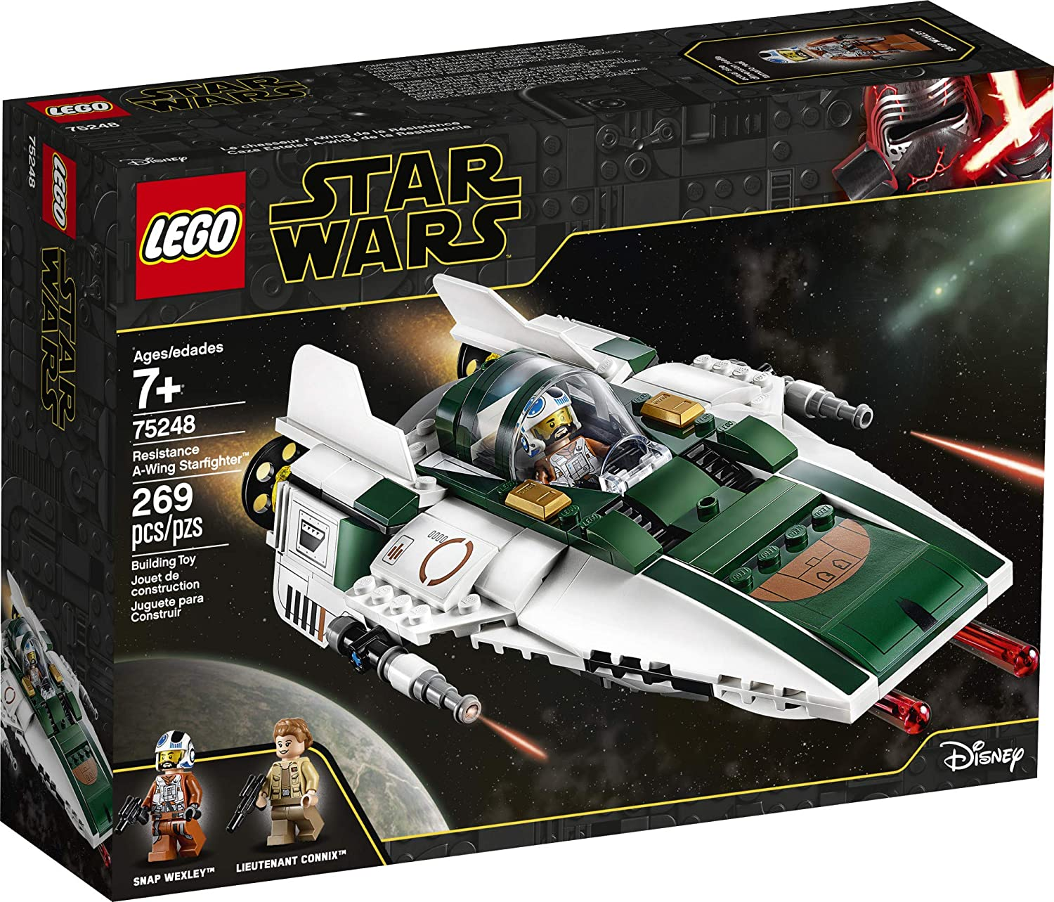TROS Resistance A-Wing Fighter Lego Set 1