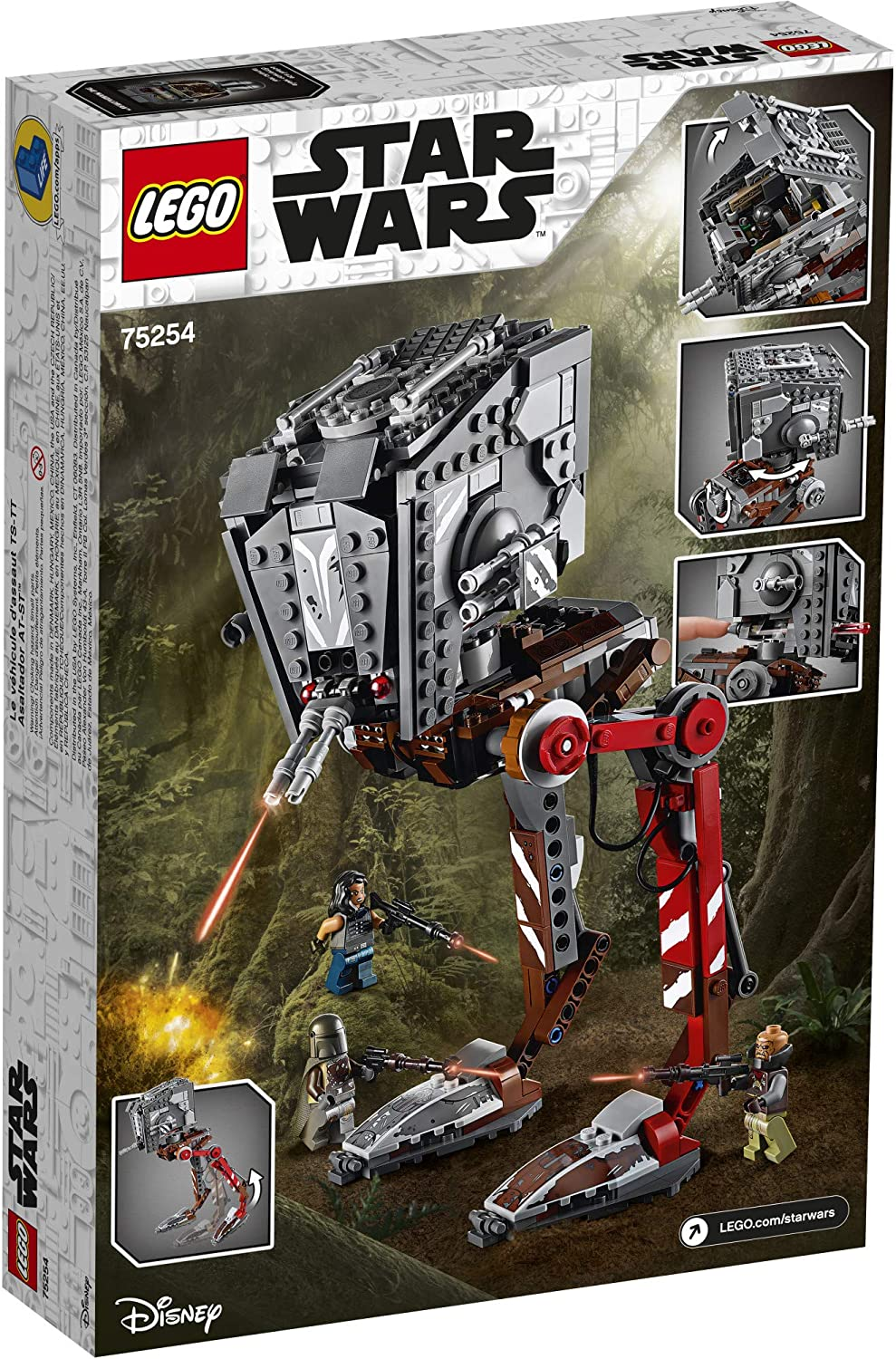 TM AT-ST Raider Lego Set 2
