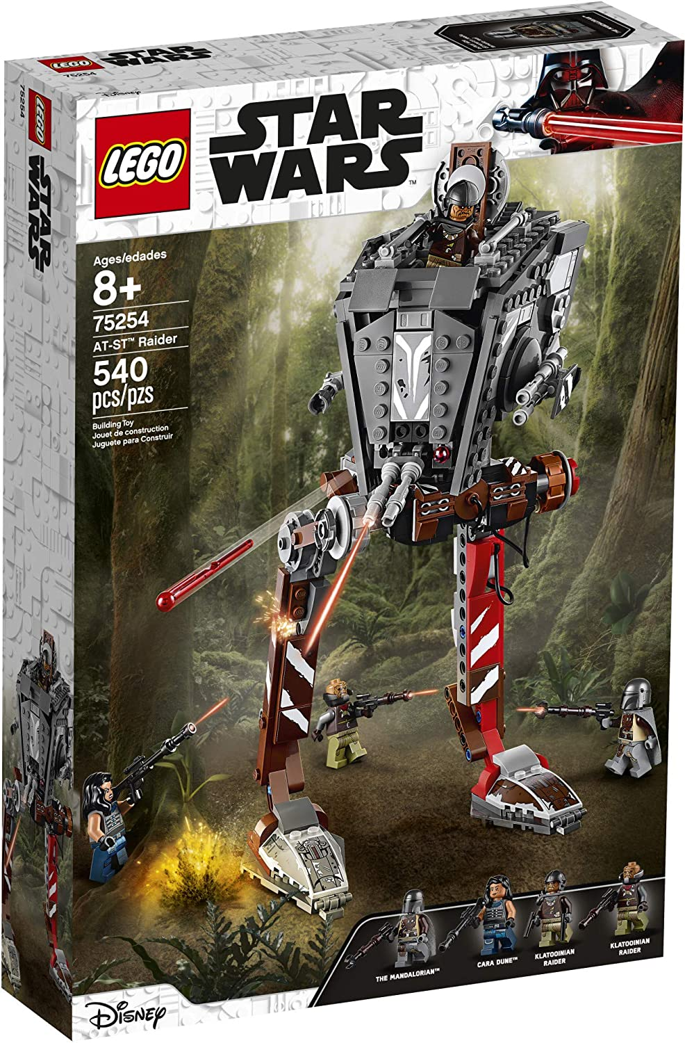 TM AT-ST Raider Lego Set 1