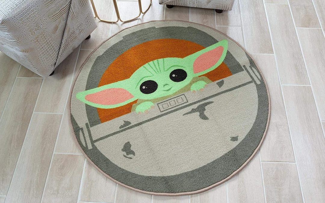 New The Mandalorian The Child Round Area Rug available now!