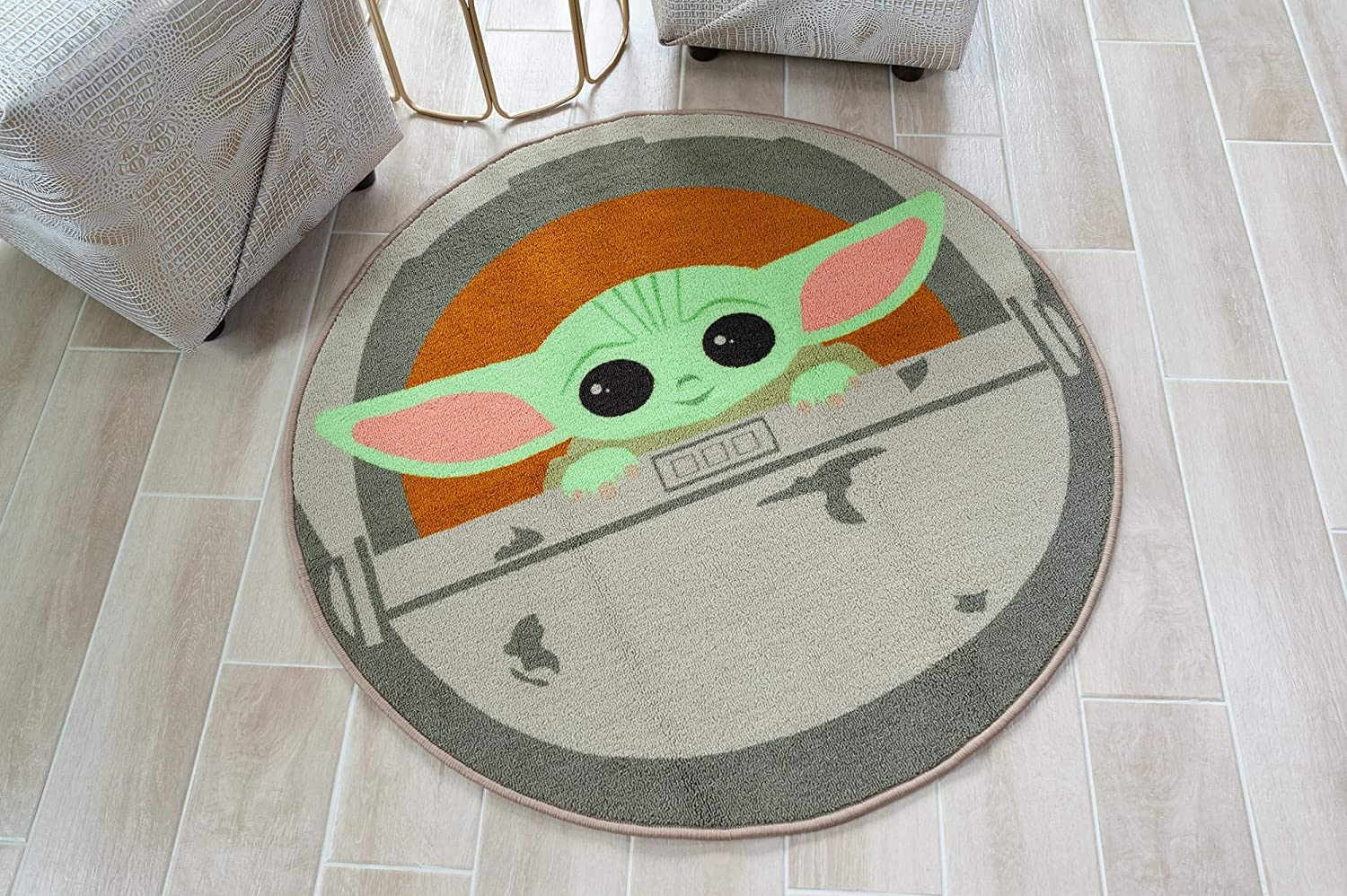 TM The Child Round Area Rug 2