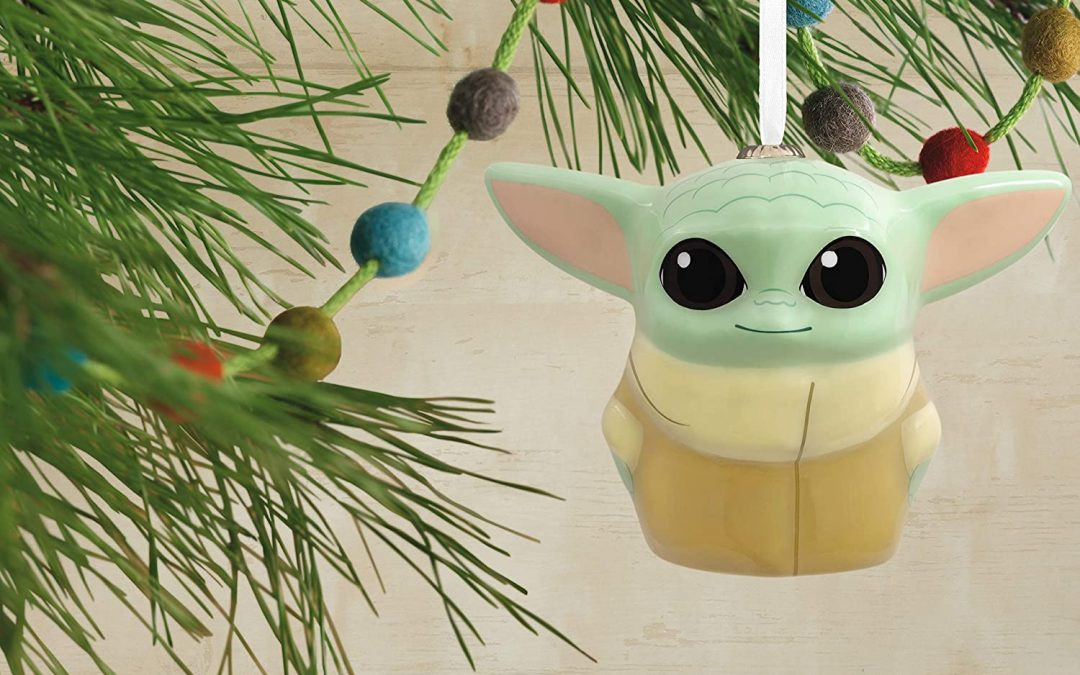 New The Mandalorian The Child Plastic Christmas Ornament available!