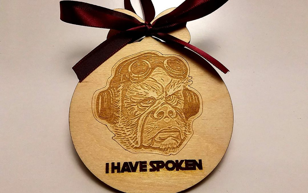 """New The Mandalorian Kuill """"I have Spoken"""" Ornament available!"""