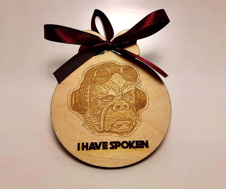 "TM Kuill ""I have Spoken"" Ornament 1"