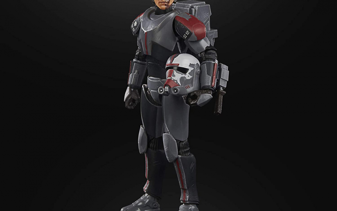 New Clone Wars Bad Batch Hunter Black Series Figure available for pre-order!