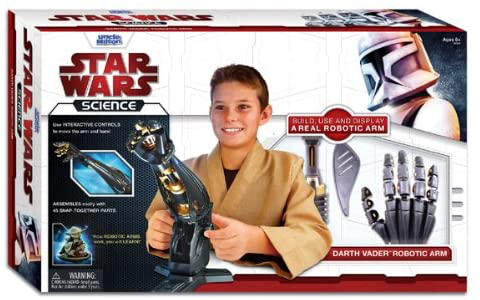 New Star Wars Science Darth Vader Robotic Arm available now!