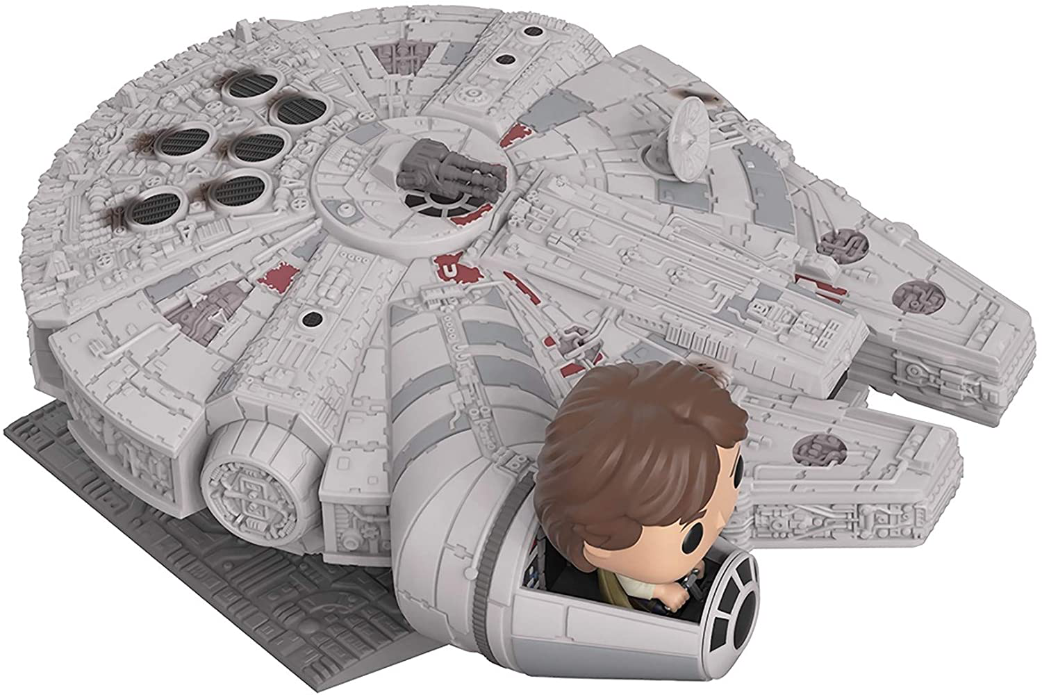 SW Millennium Falcon with Han Solo FP BH Toy 2