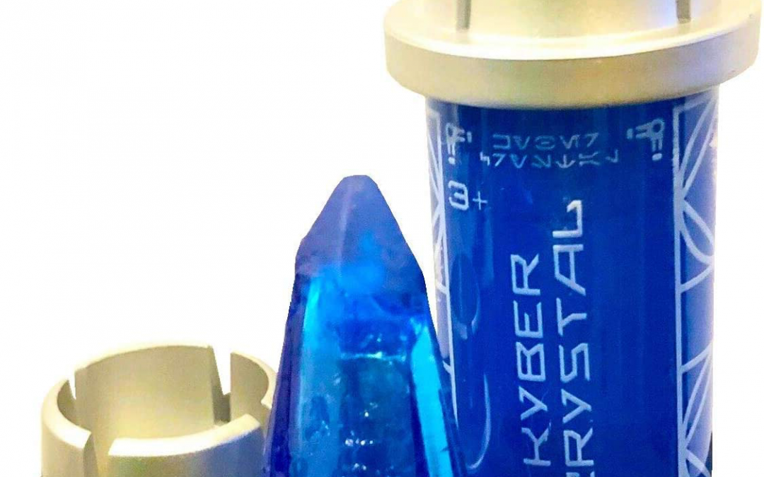 New Galaxy's Edge Old Ben Force Guidance Blue Kyber Crystal available!