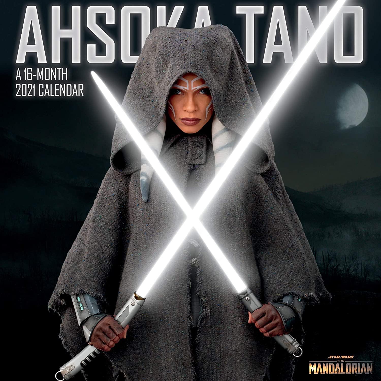 TM Ahsoka Tano 2021 Wall Calendar 1