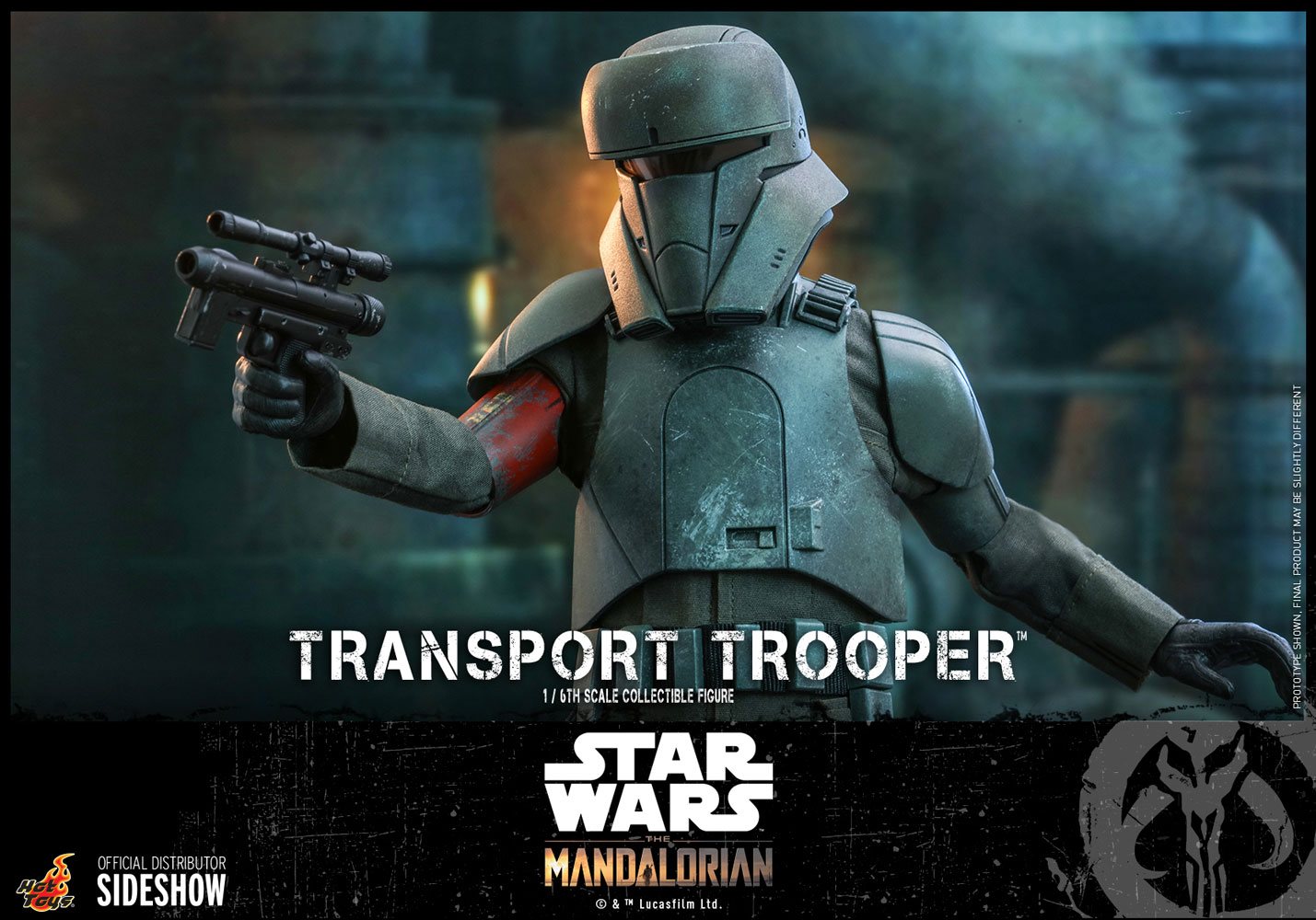 TM Imperial Transport Trooper 1/6th Scale Figure 8