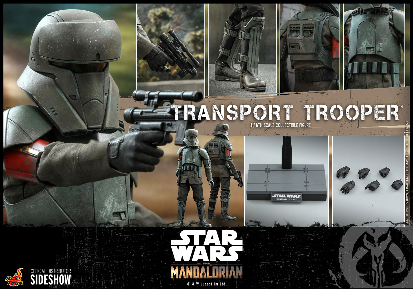 TM Imperial Transport Trooper 1/6th Scale Figure 9