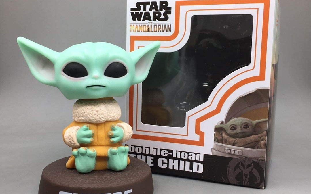 New The Mandalorian The Child (Grogu) 10 cm Bobble Head Toy available!