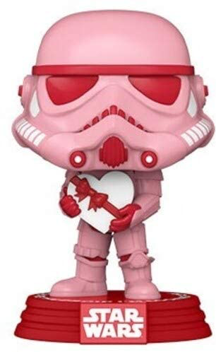 SW Funko Pop! Stormtrooper with Heart Valentines Day Bobble Head Toy
