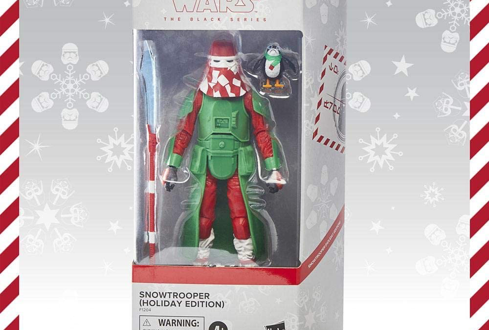 New Star Wars Holiday Edition Snowtrooper with PORG Figure available!