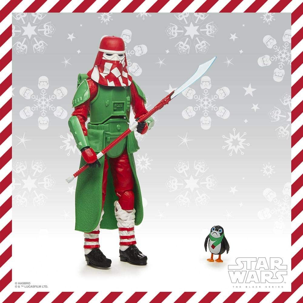 SW Holiday Edition Snowtrooper with PORG Figure 2
