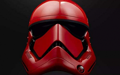New Galaxy's Edge Captain Cardinal Electronic Helmet available now!