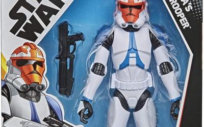 New Galaxy of Adventures Ahsoka's Clone Trooper Figure available!