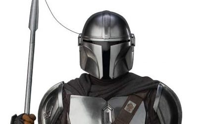 New Mando (Din Djarin) with Spear Life Size Cardboard Standee available!