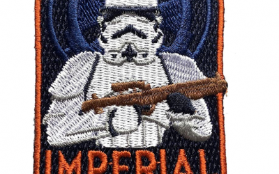 New Star Wars Imperial Infantry Stormtroopers Embroidered Patch available!