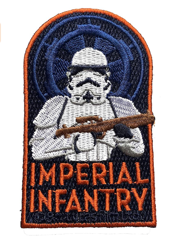SW Imperial Infantry Stormtroopers Embroidered Patch