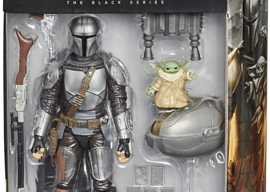 New Mando (Din Djarin) and The Child (Grogu) Black Series Figure Set available!