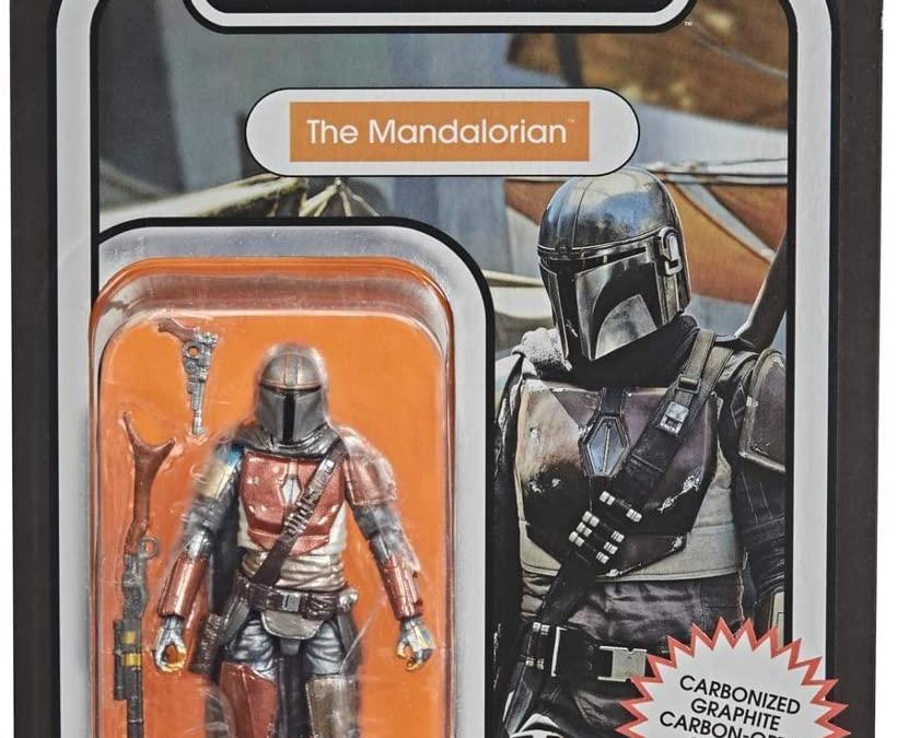 New The Mandalorian Mando (Din Djarin) Carbonized Vintage Figure available!