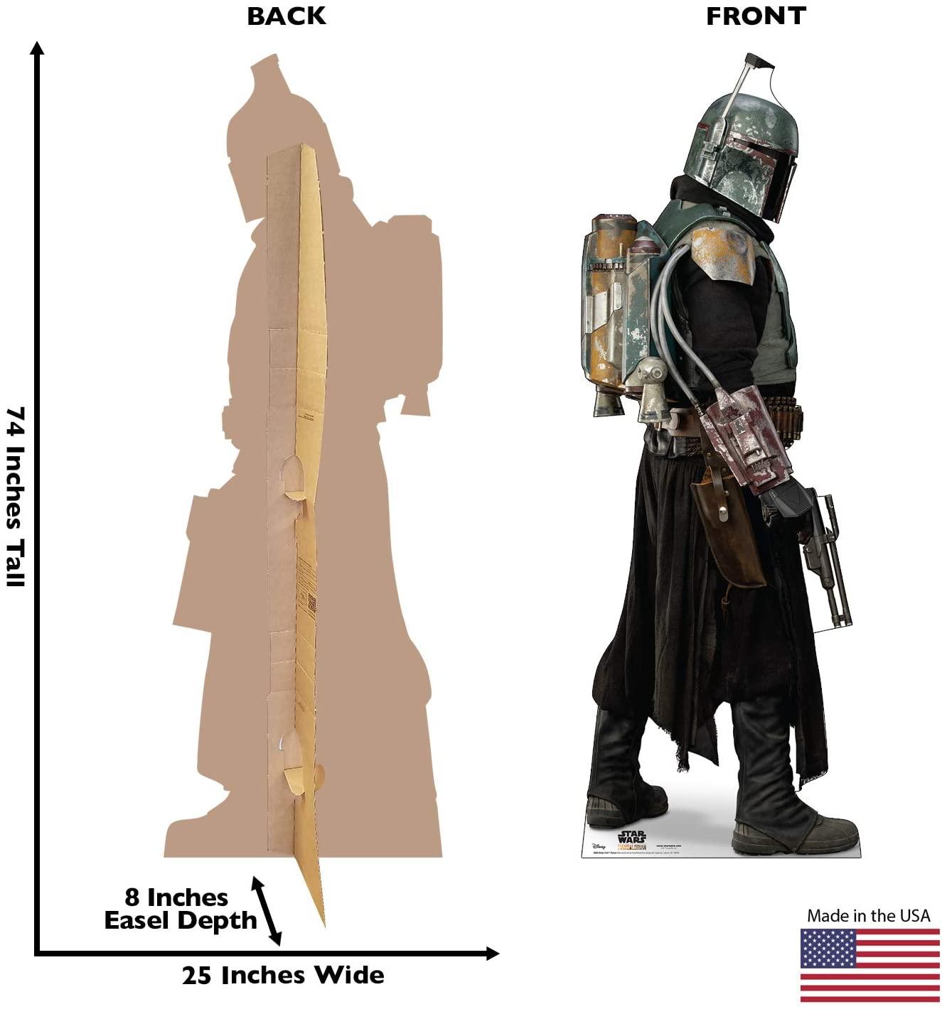 TM Boba Fett in Armor Life Size Cardboard Standee 3