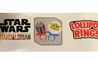 New The Mandalorian Lollipop Rings 2-pack available now!