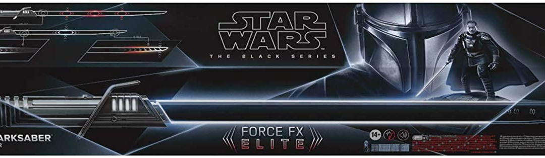 New The Mandalorian Darksaber Force FX Elite Lightsaber available now!